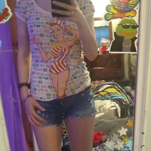 Barbie nostalgic collection shirt size medium